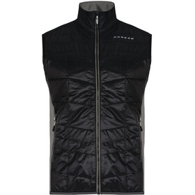 Dare 2b Systematic Wool Vest Men Black/Asteroid Grey